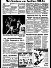 Battle Creek Sports History: Week of Dec. 1, 1976