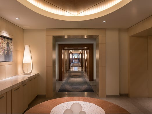 Amenities for guests of the multi-room Ritz-Carlton,