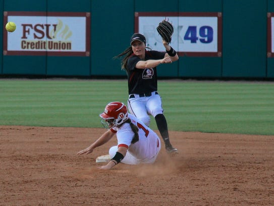 Florida State is in the WCWS for the second time in