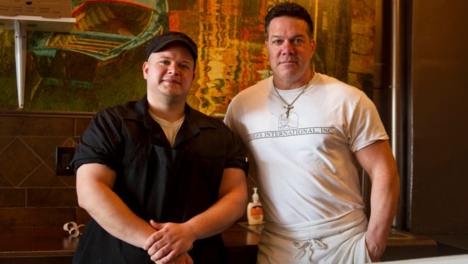 Owners Mike Paulson Jr. and  Mike Paulson Sr. took over the restaurant about three months ago. Indulge at Dylan's Pizzeria and Ristorante. Keyport, NJThursday, December 10, 2015@dhoodhood