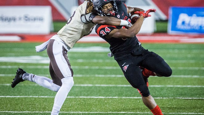 Ball State faced off against Western Michigan at Scheumann Stadium Tuesday, Nov. 1, 2016.