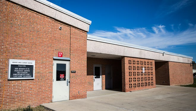 The future site of the Muncie administration office at the Muncie Area Career Center Thursday.