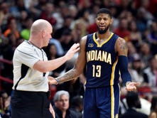 Paul George on ejection: 'I've got to be better'