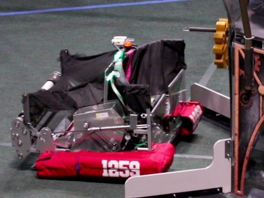 LC Pewaukee Paradigm Shift at First Robotics Regional