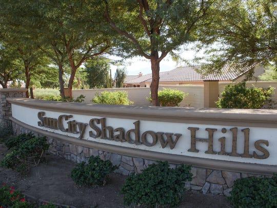 The Sun City Shadow Hills development in Indio, October
