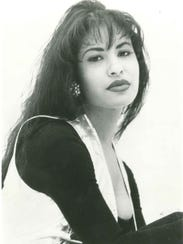 Selena Quintanilla-Perez in a publicity photo received