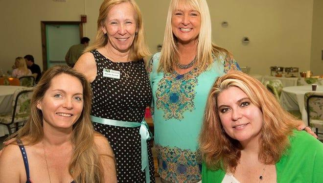 Cassie Waitkus, Wendie Berardi, Paula Buncy and Tara Biek attend the 2016 Spring Forward for Hunger Event.