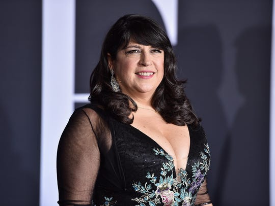 Author E.L. James attends the premiere of Universal