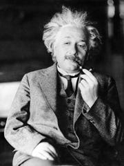 This undated file photo shows the famed German-born physicist Albert Einstein, author of the theory of relativity.
