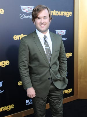 """Haley Joel Osment seen here arriving at the Los Angeles premiere of """"Entourage"""" at the Westwood Regency Village Theatre on Monday will be at Cinemas Palme d'Or in Palm Desert on Saturday for a Q & A."""
