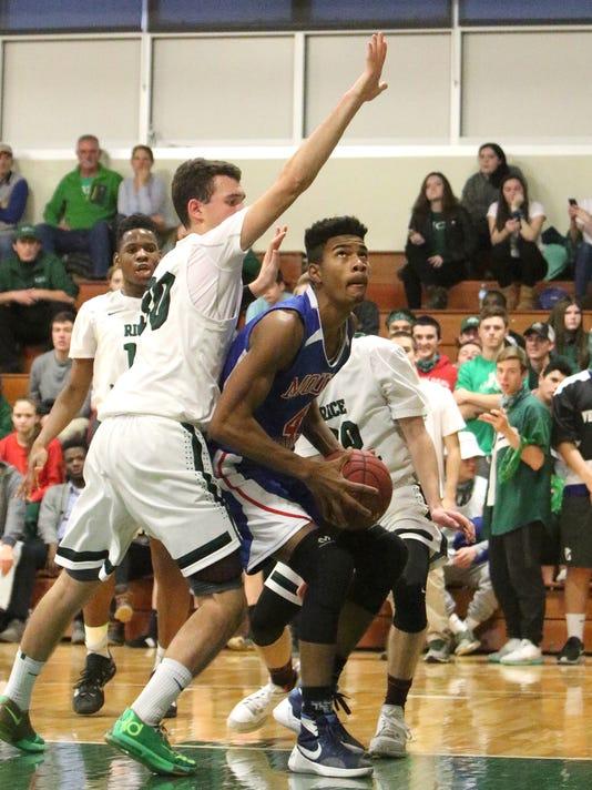 Mount Anthony-Rice basketball