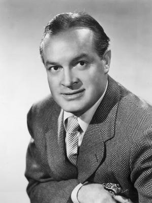 "Comedian Bob Hope poses for a promotional portrait for his television show, ""The Bob Hope Show"" in 1954."