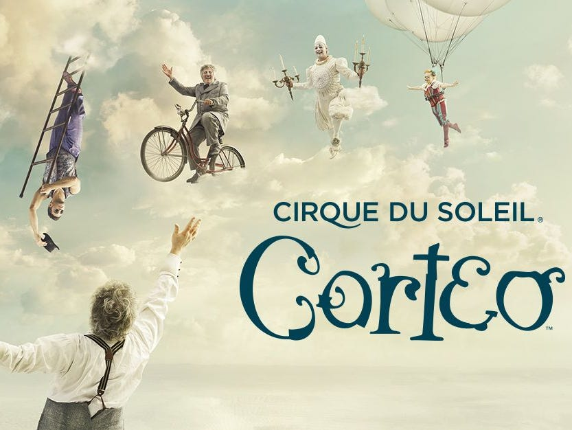 Corteo comes to Indy 8/22-26. Enter to win a four pack of tickets 7/23-7/31.