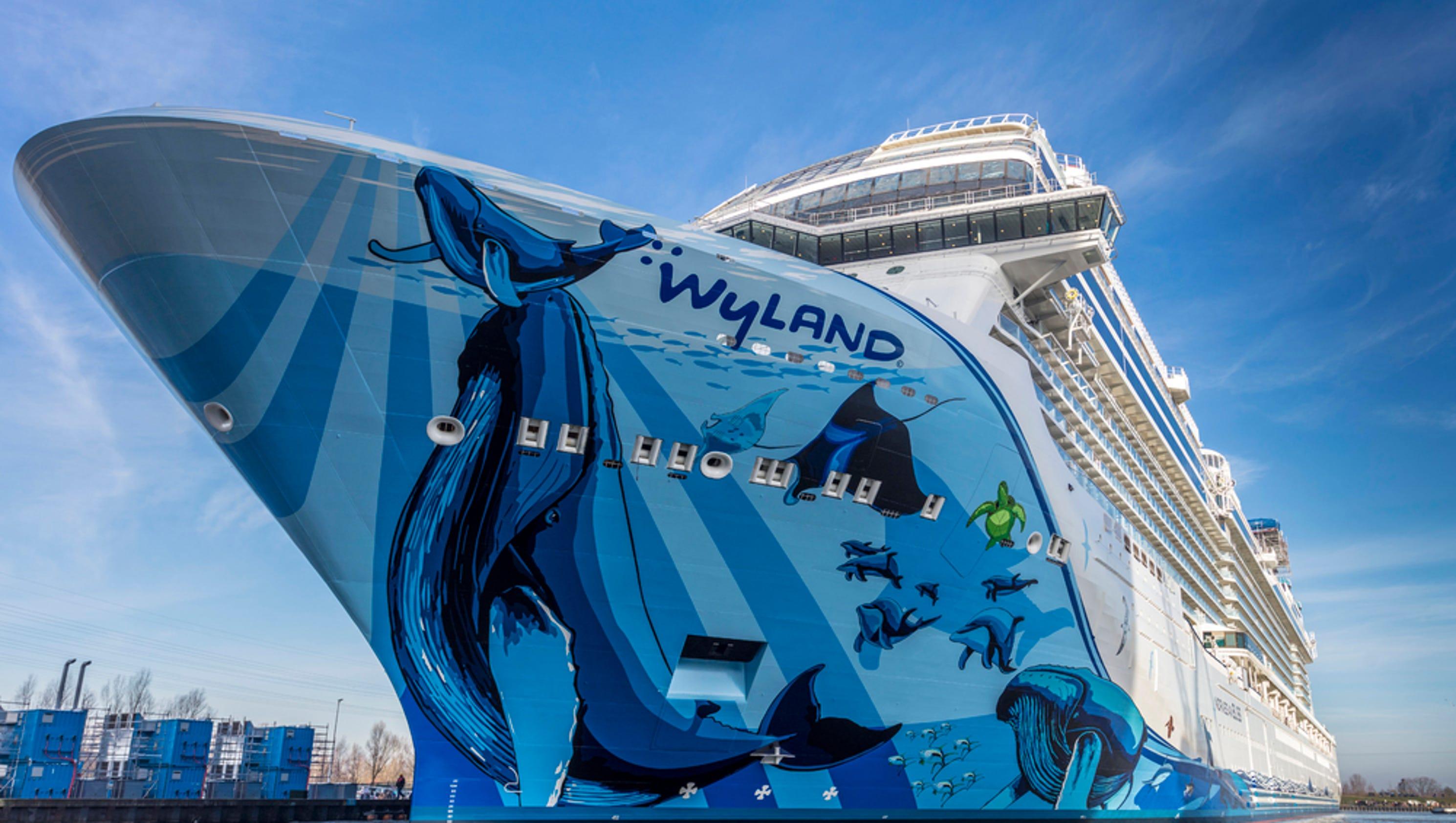 Norwegian Bliss Norwegian Cruise Line S Giant New Ship Debuts
