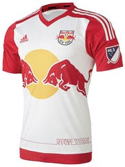 This New York Red Bulls jersey will tide you over until next season's opener in March and is sure to be a hit – or, shall we say, a goal.