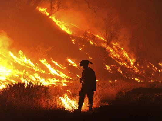 AP YE 2015 THE HOTTEST YEAR A FILE USA CA