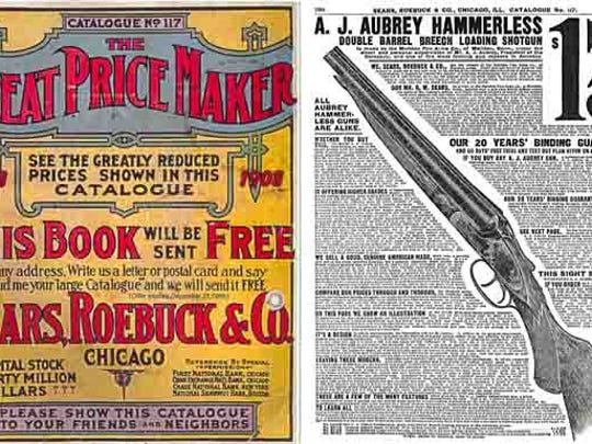 This ad is from a 1908 Sears, Roebuck and  Co. catalog.