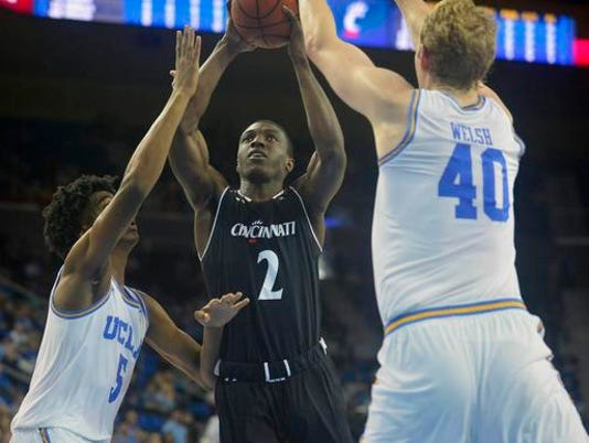NCAA Basketball: Cincinnati at UCLA