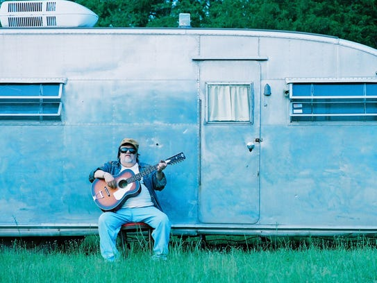 Jim Dickinson at his Mississippi ranch.