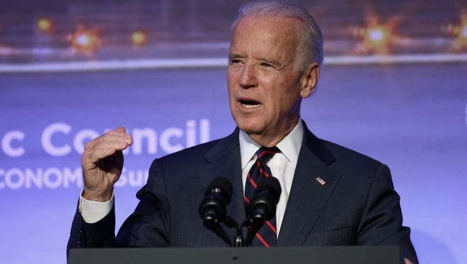 Vice President Joe Biden,  speaking at the annual Atlantic Council Energy and Economic Summit in Turkey last year, says he thinks he has done a good job as vice president, but isn't sure whether he'll try for a chance to lead the nation.
