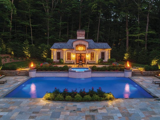 Saddle River backyard by Josh Hampton, Landscape Perceptions
