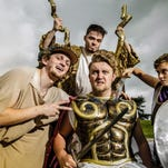 """LCC's Summer Stage Under The Stars 2016 includes the comedy """"The Iliad, the Odyssey, and All of Greek Mythology in 99 Minutes or Less"""" by Jay Hopkins, John Hunter, and Homer, directed by John Lennox."""