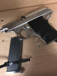 Handgun recovered by Oxnard police.