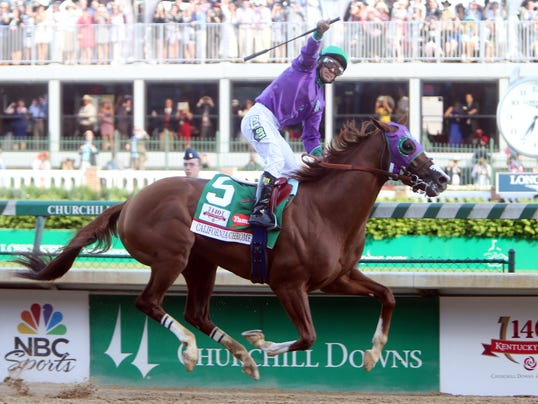 2014-05-03 california chrome wins derby