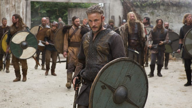 "The Vikings are coming to the Riverdale Kiwanis Medieval Faire. Pictured is Ragnar Lothbrok (Travis Fimmel) of the TV show ""Vikings."""