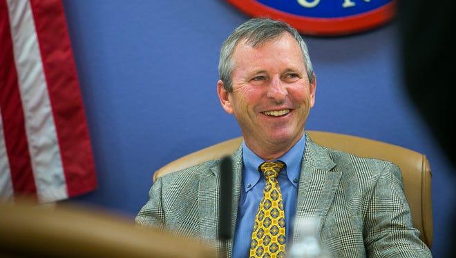 Maricopa County Supervisor Andy Kunasek is retiring.