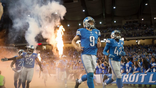 When the Lions next play at Ford Field, there won't be any playoff appearance banner hanging from the rafters.