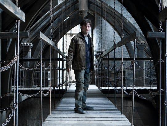 "DANIEL RADCLIFFE as Harry Potter in  ""HARRY POTTER"