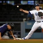 Chatwood goes 8 innings, Rockies 1-hit Dodgers in 6-1 win
