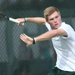 MSU men's tennis team falls in back-to-back matches against top-20 teams.