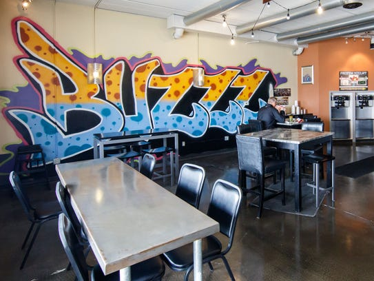 Cafe Buzzzz has a close relationship with nearby Kettle Moraine High School.