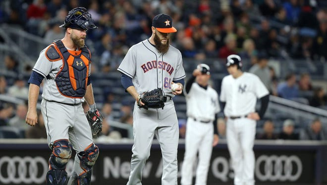 2015 AL Cy Young award winner Dallas Keuchel of the Houston Astros looks like he could win another one after starting this season 9-0 with a 1.67 ERA.
