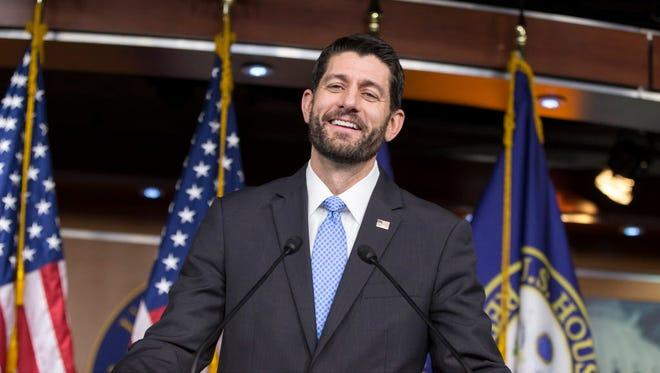 House Speaker Paul Ryan on Dec. 17, 2015.