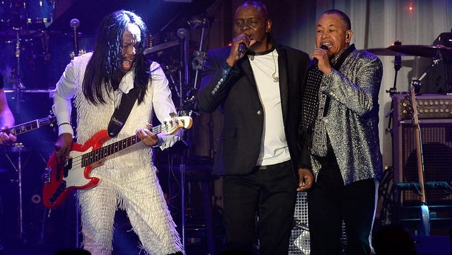 CONCERT PICK OF THE WEEK: Three classic lineup members — versatile vocalist Philip Bailey, drummer Ralph Johnson and bassist Verdine White — are still giving their all on stage, as are six other sharp musicians who convey the spirit and soul of Earth, Wind & Fire's timeless tunes. 8 p.m. Friday, Riverside Theater. $55 to $95.