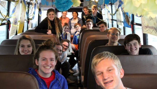 The Mountain Home Bombers and Lady Bombers competed at the 7A/6A State swim meet on Saturday, with the Bombers placing 12th.