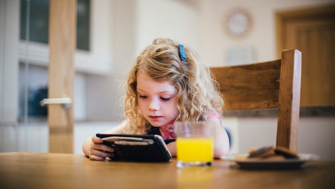 For all ages, screen time should end at least one hour before bedtime.
