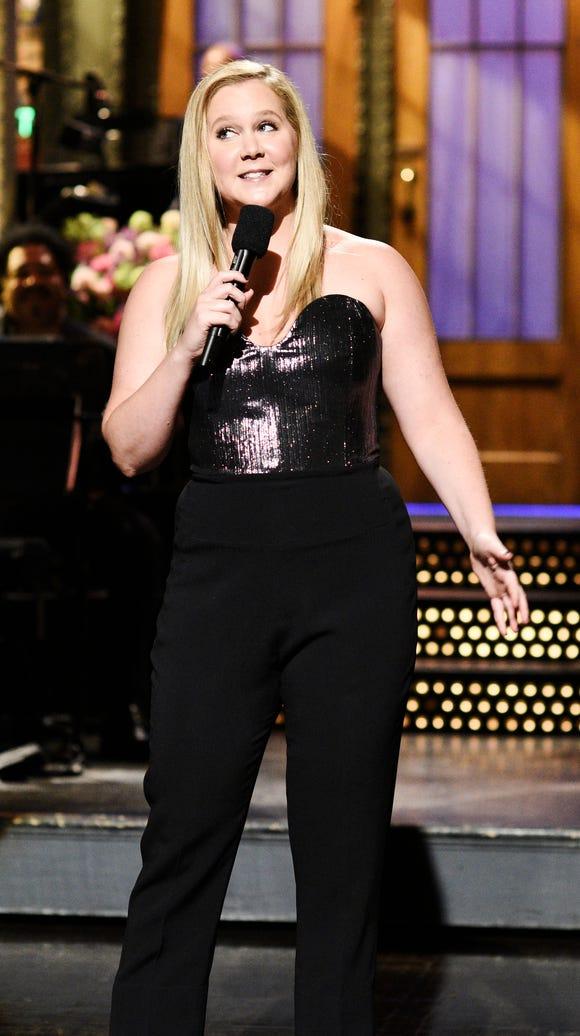 "Amy Schumer hosts ""Saturday Night Live."""