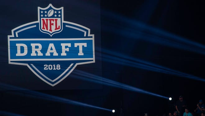 The 2018 NFL draft is being held at AT&T Stadium in Arlington.
