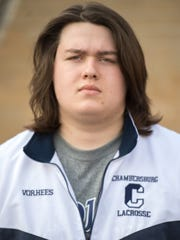 Jacob Vorhees, Chambersburg boys lacrosse