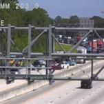 Lanes re-open after I-95 crash in central Brevard