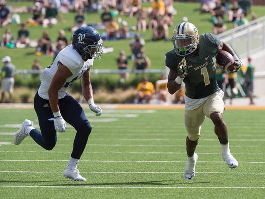 NCAA Football: Rice at Baylor