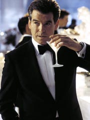 """Shaken, not stirred"": James Bond (Pierce Brosnan)"