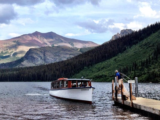 sinopah two medicine lake