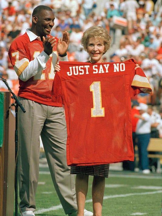 Nancy Reagan, Doug Williams