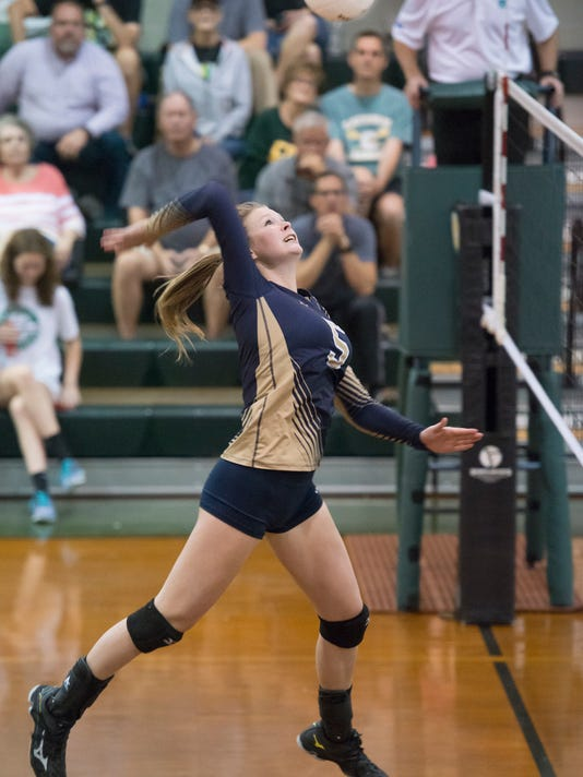 Gulf Breeze vs Catholic volleyball