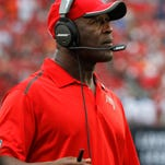 Tampa Bay entered the season with high hopes under new coach Lovie Smith, but the Bucs are looking to avoid an 0-3 start with a key divisional game at Atlanta Thursday night.